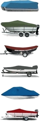 Pontoon Covers, Cuddy Cabin Boat Covers, Drift Boat Covers, Fishing Boat Covers, PWC Cover, Bass Boat Cover