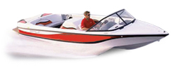 Centurion by Fineline Elite Air Warrior Semi-Custom Boat Covers