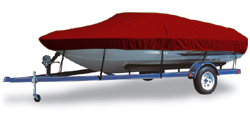 Semi-Custom Deck Boat w/ Ski Tower 21' Semi-Custom Boat Covers
