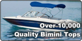 Over 10,000 Quality Bimini Tops