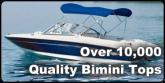 Over 10,000 Quality Bimini Tops