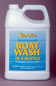 Boat Wash In A Bottle, Gallon - Star Brite