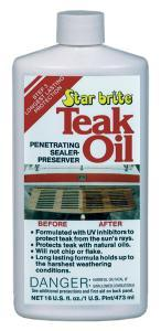 Teak Oil, 16oz - Star Brite