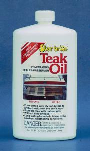 Teak Oil, 32oz - Star Brite