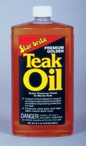 Premium Golden Teak Oil, 32oz - Star Brite