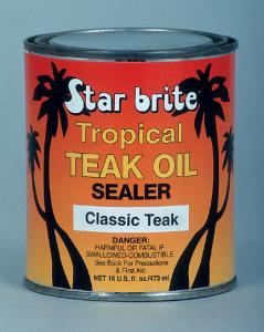 Tropical Teak Oil Sealer, Classic, 16oz - Sta …