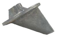 Mercury/Mercruiser Trim Tab Anode, Magnesium  …