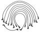Premium Spark Plug Wire Set  - 18-8804-1 - Si …