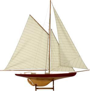 Sail Model 'Defender' 1895 - Authenti …