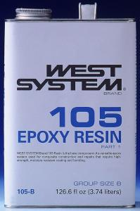 West System 105 Resin, .98 Gallons