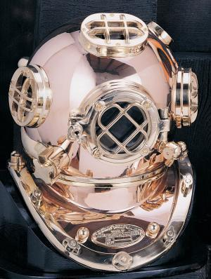 "Mark V Diving Helmet, 7 1/2"" - High Shin …"