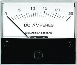 Ammeter, Analog, 0-25A DC - Blue Sea Systems