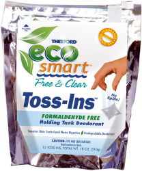 Eco-Smart Free & Clear Toss-Ins, 12 Packe …
