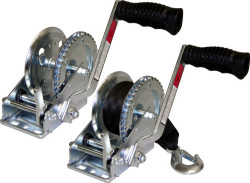 Zinc Winch, 4:1, 1200lb, with Strap - Seasens …