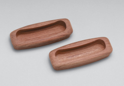 "Rectangular drawer pull, 3-1/4"" long, 2  …"