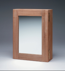 Medicine Chest w/mirror - Whitecap