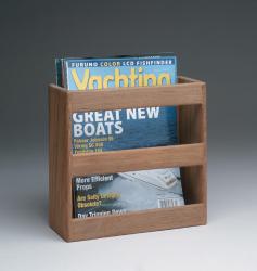 Magazine/utility rack - Whitecap