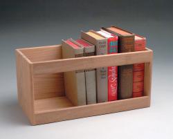Hardcover book rack - Whitecap