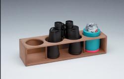 Four Insulated Drink/Binocular Rack - Whiteca …