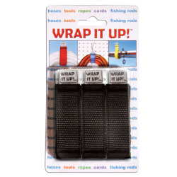 Wrap It Up, 3-Pack, Black - Kwik Tek