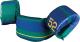 Premium Puddle Jumper, Green/Blue - Stearns