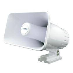 Speco SPC-15RP Hailer Horn - 5 x 8, White, 30 …