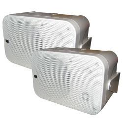 Poly-Planar MA9060 Box Speakers (White) - Pol …