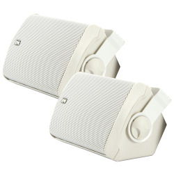 Poly-Planar MA7500 Compact Box Speaker (White …