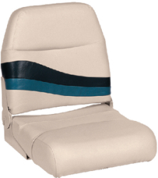 High Back Boat Seat