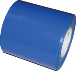"Blue Heat Shrink Tape 4"" x 180' - Dr …"