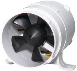 "In-Line Blower, 4"" - Johnson Pump"