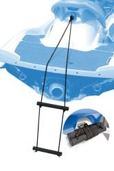 Hardline PWC/Jet Boat Boarding Ladder Boat Bo …