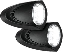 Black Led Docking Lights - Attwood