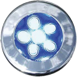 "3"" Recessed Led Puck Lights, Blue - T-H  …"