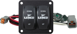 Double Rocker Switch Kit - Lenco