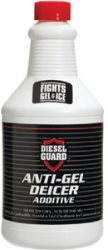 Diesel Guard Anti-Gel Deicer Additive, Qt.