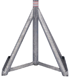 "Galvanized Motorboat Stand Base Only 28"" …"