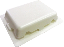 "Self Adhesive Vent 4"" X 5"", White - …"