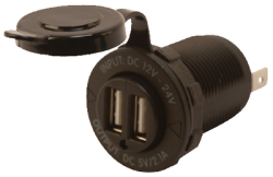 Double Usb Power Socket - Seadog Line