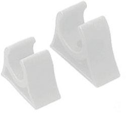 "Pole Storage Clip, 1"" White - Seadog Lin …"