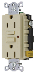 Gfci Duplex Receptacle W/Cover Plate, Ivory - …
