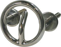 Ski Tow Ring, Transom Mount, Stainless Steel