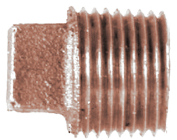 Brass Plug Fitting 1/2 - Midland Marine