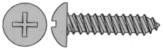 14 X 1 Phil Ph Ss Sts 100/Bx - Marine Fastene …