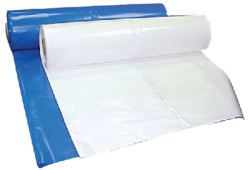 Blue Poly Film 17'x 106'- 60#