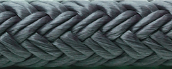 "Double Braid Nylon Dock Line, Navy, 5/8"" …"