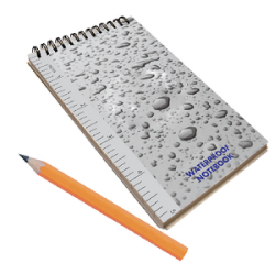 "3"" x 5"" Waterproof Notebook - Seach …"