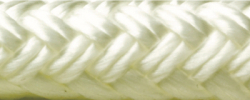 "Double Braid Rope Spool, White, 3/8"" x 6 …"