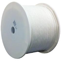 "Tie Down Cord, White, 1/4"" x 1000' - …"