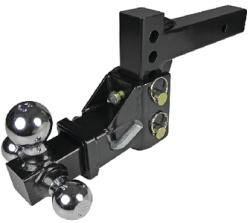 3 Ball Trailer Hitch, Adjustable - Seachoice
